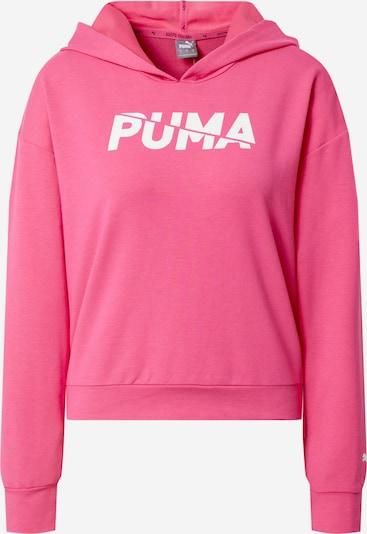 PUMA Sweat de sport en rose / blanc, Vue avec produit