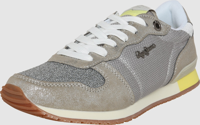 Pepe Jeans Turnschuhe Low 'Gable Kunststoff, Textil Wilde Freizeitschuhe