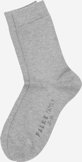 FALKE Socken 'Family' in hellgrau, Produktansicht