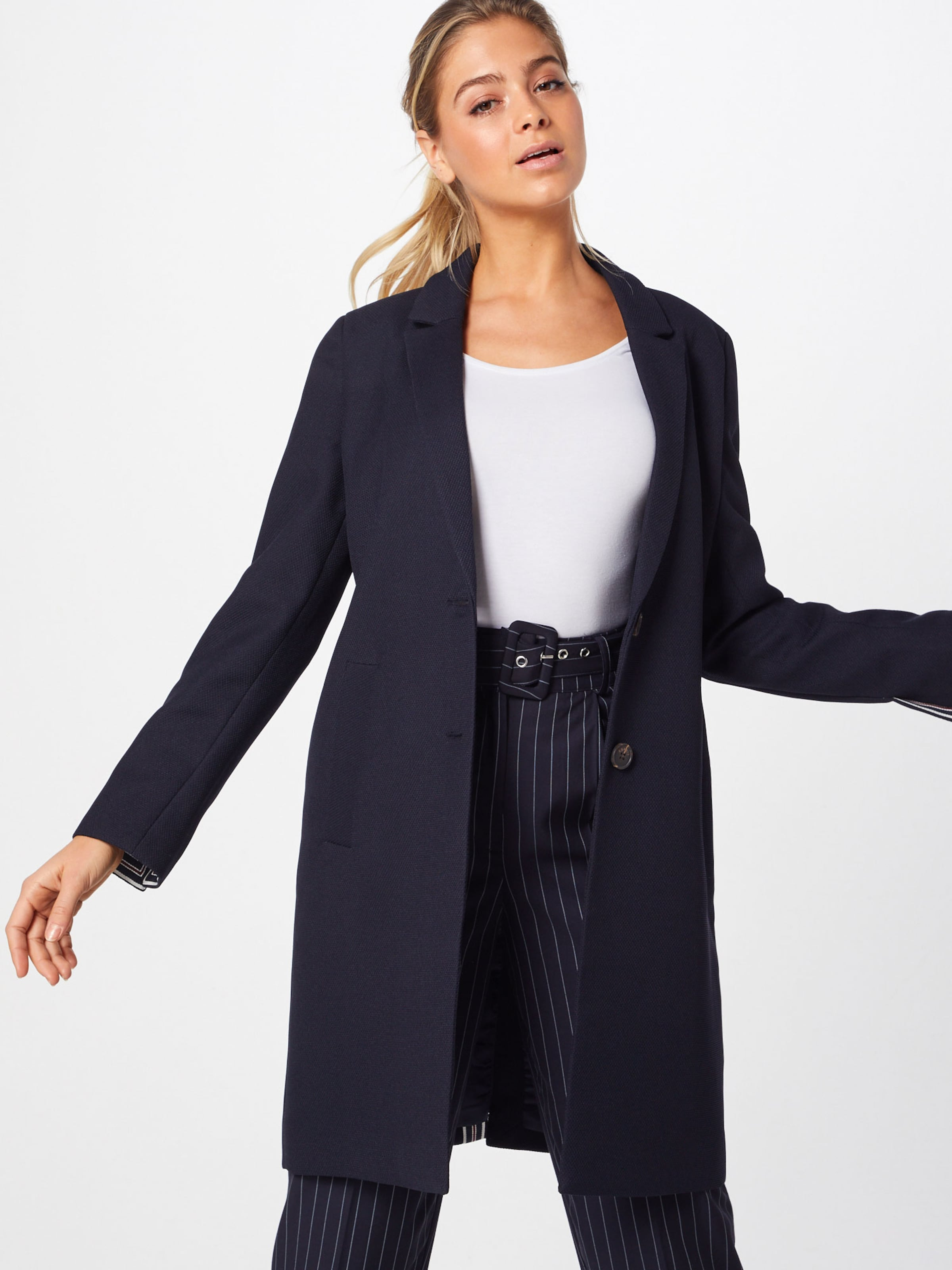 Manteau saison Bleu Marine Esprit En Mi Yf6gv7yb