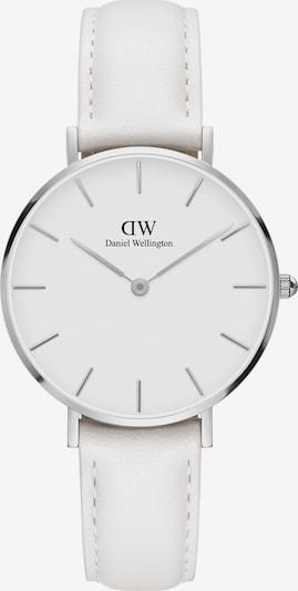 Daniel Wellington Uhr in silber / weiß, Produktansicht