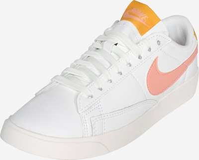 Nike Sportswear Baskets basses 'Blazer' en corail / blanc, Vue avec produit