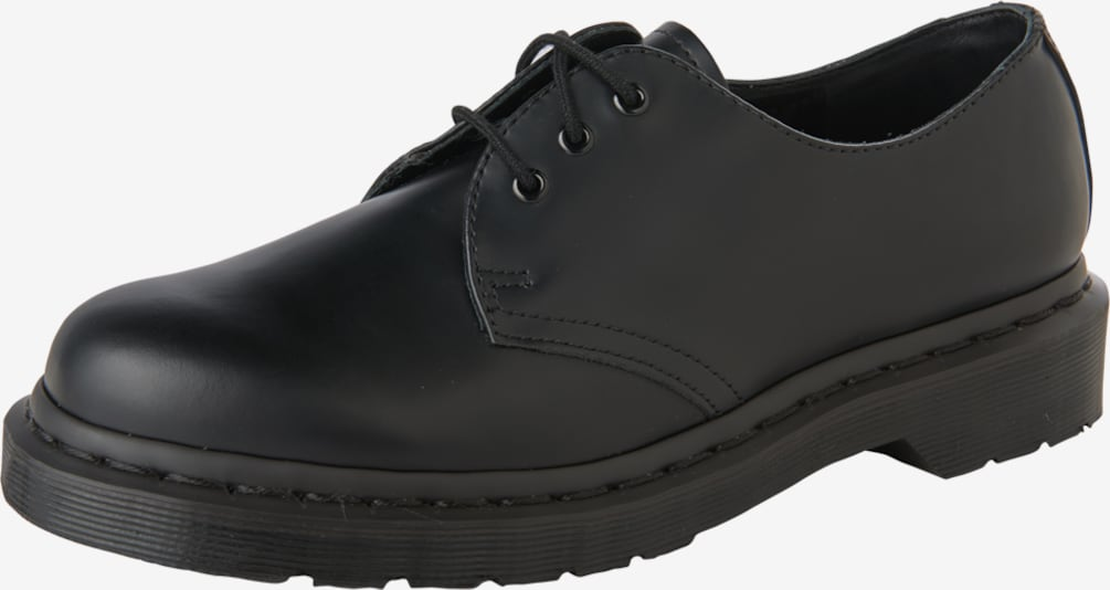 Dr. Martens Veterschoen '1461 8 Eye Boot Smooth' in de kleur Zwart, Productweergave