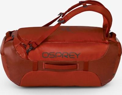 Osprey Sporttas 'Transporter 65' in de kleur Bloedrood, Productweergave