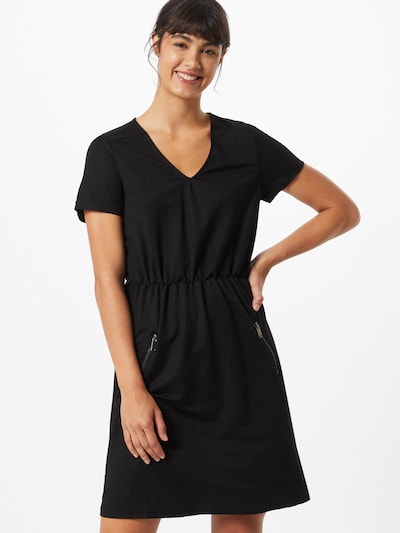 ABOUT YOU Robe 'Cassia' en noir: Vue de face