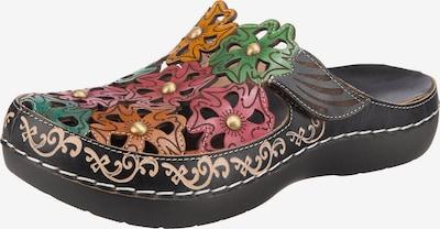 Laura Vita Clogs in de kleur Gemengde kleuren, Productweergave