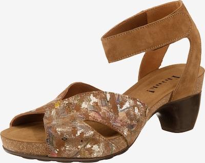 THINK! Traudi Klassische Sandaletten in braun, Produktansicht