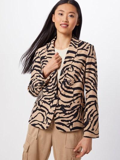 VERO MODA Blazer 'VMKOURTNEY EVA' in beige / schwarz, Modelansicht