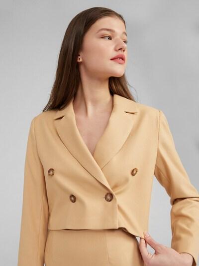 EDITED Blazer 'Benson' in beige, Modelansicht