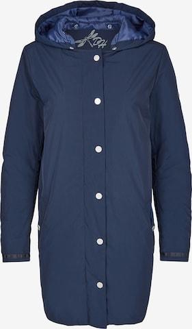 DANIEL HECHTER Between-Seasons Coat in Blue