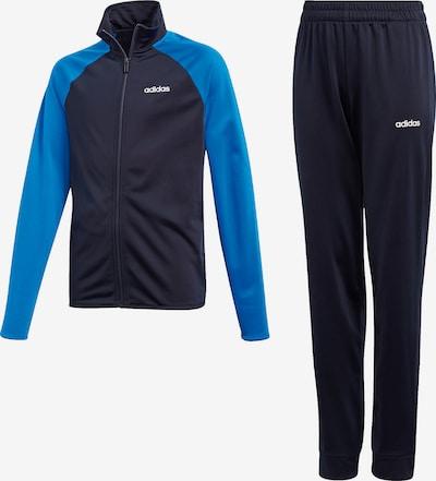 ADIDAS PERFORMANCE Trainingsanzug 'Entry' in blau / dunkelblau, Produktansicht