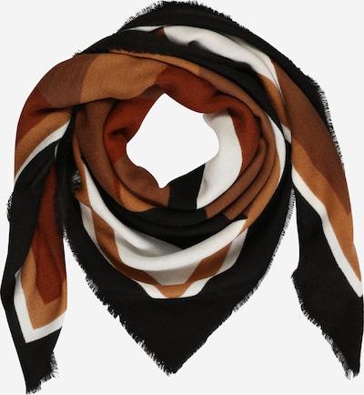 ONLY Maska z materiału 'Oranje' w kolorze karmelowy / rdzawobrązowy / jasnobrązowy / czarny / offwhitem, Podgląd produktu