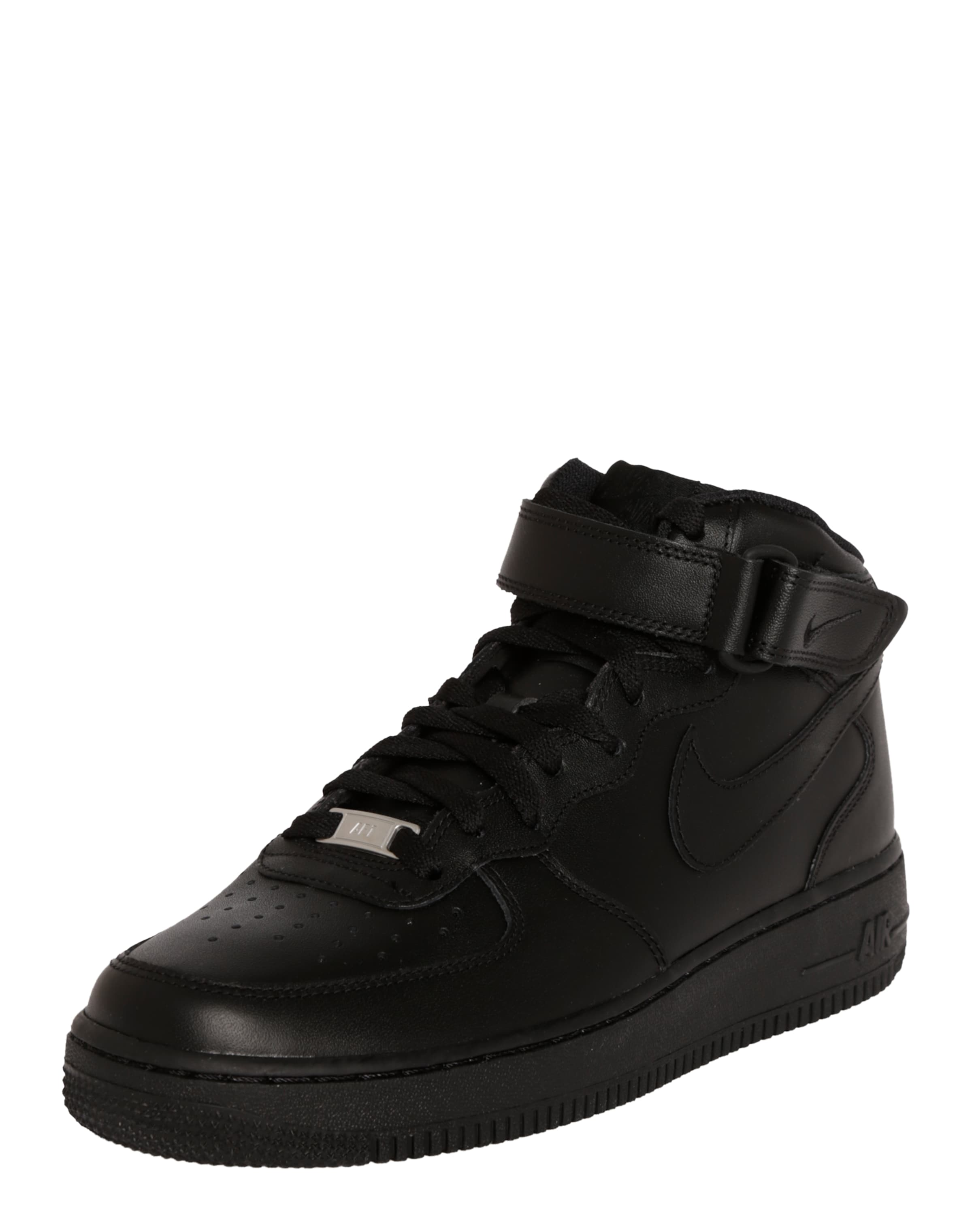'air Nike Schwarz In Sportswear Force Mid' Sneaker yvN8nOm0w