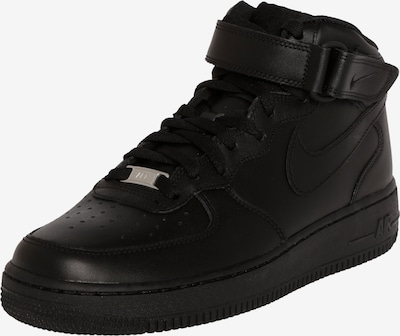Nike Sportswear Sneaker high 'Air Force Mid' i sort, Produktvisning