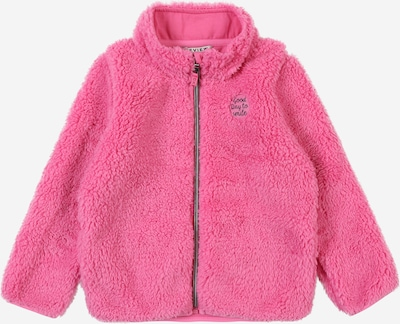 REVIEW FOR KIDS Plüschjacke in rosé, Produktansicht