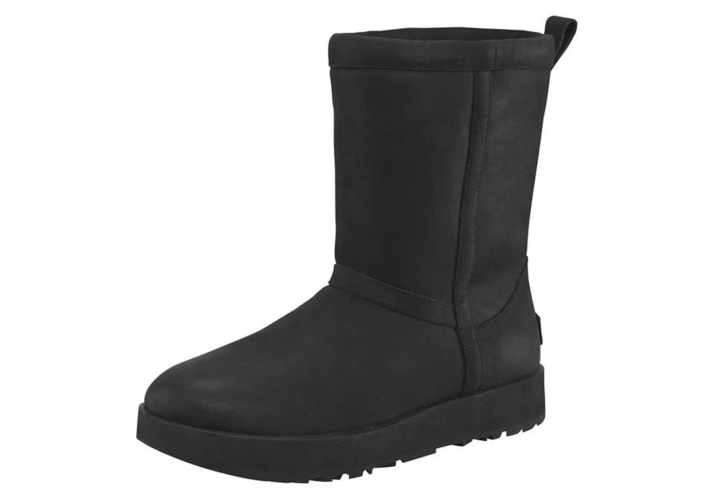 UGG Winterboots 'Classic Short Leather Waterproof' Online Speichern Kaufen Sie Günstig Online Preis KZh1FI