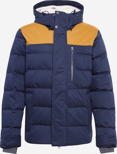 JACK WOLFSKIN Outdoor jacket 'Lakota' in beige / navy / honey, Item view