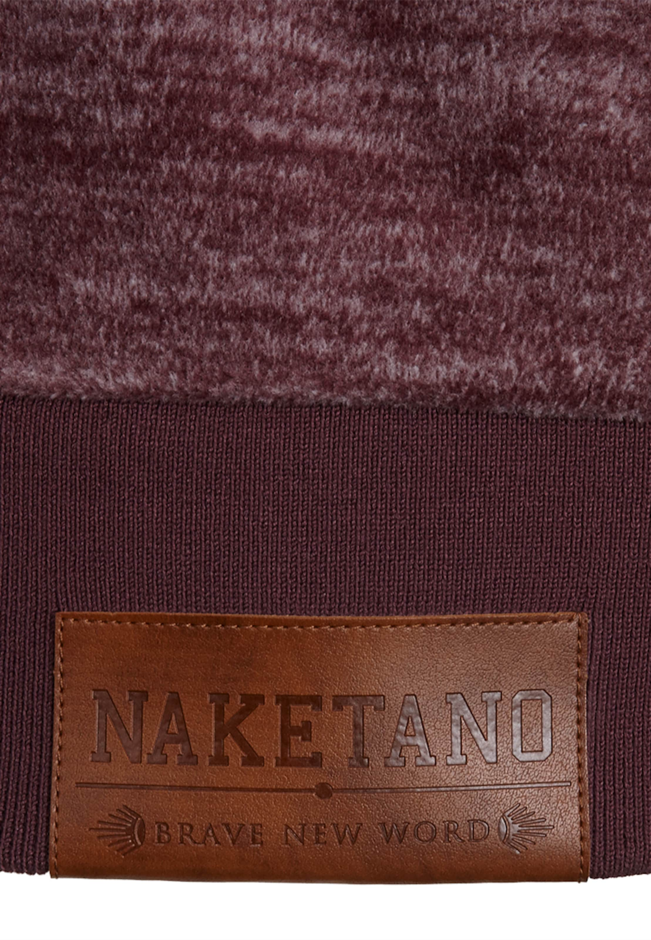 Spielraum 2018 Neu Bestes Geschäft Zu Erhalten Online-Verkauf naketano Zipped Jacket 'Hamza Bau Ma J iii' Online 100% Garantiert 8oHfG3gG4