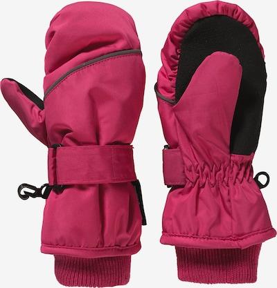 STERNTALER Handschuhe in neonpink / schwarz, Produktansicht