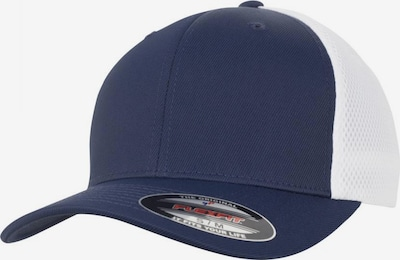 Flexfit Cap 'Ultrafibre & Airmesh' in navy / weiß, Produktansicht
