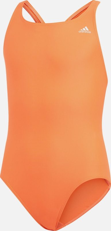 ADIDAS PERFORMANCE Badeanzug 'FIT SUIT SOL Y' in orange, Produktansicht