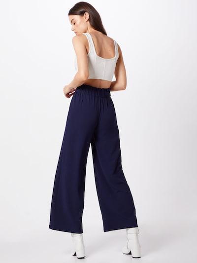 ABOUT YOU Pantalon 'Vanessa' en bleu foncé: Vue de dos