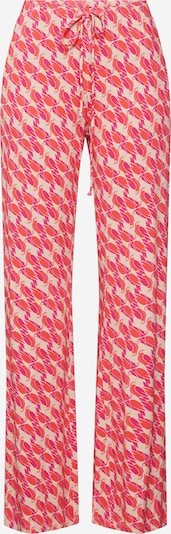 LAUREL Broek in de kleur Beige / Rood, Productweergave