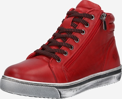 Sportbačiai su auliuku iš COSMOS COMFORT , spalva - raudona / juoda, Prekių apžvalga
