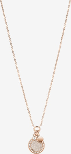 FOSSIL Necklace in Rose gold, Item view