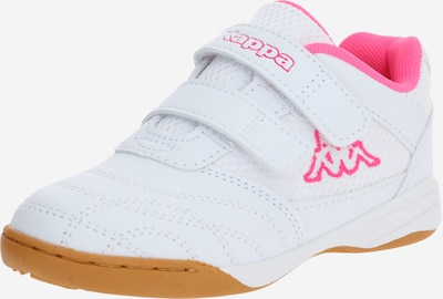 KAPPA Sneakers 'KICKOFF K' in de kleur Pink / Wit: Vooraanzicht