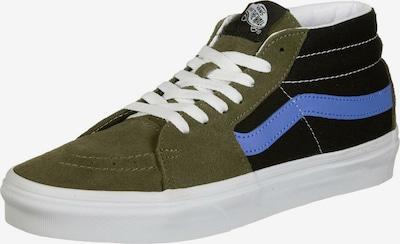 VANS Schuhe ' Sk8-Mid ' in blau / oliv / schwarz / weiß, Produktansicht