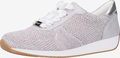 ARA Sneaker 'Lissabon' in silbergrau / weiß, Produktansicht