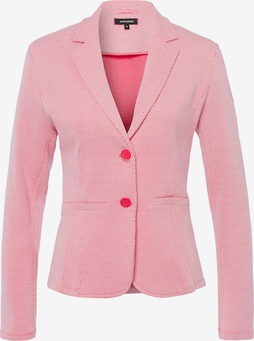 MORE & MORE Jerseyblazer, himbeer/ecru Struktur in Pink