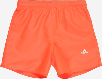 ADIDAS PERFORMANCE Badeshorts in orange, Produktansicht