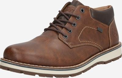 RIEKER Čevlji na vezalke | rjava barva, Prikaz izdelka
