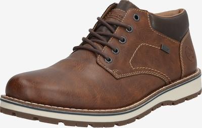 RIEKER Buty sznurowane w kolorze brązowym, Podgląd produktu