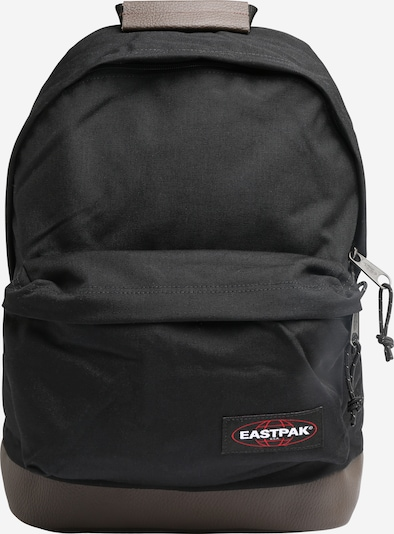 EASTPAK Rugzak 'WYOMING' in de kleur Bruin / Rood / Zwart / Wit, Productweergave