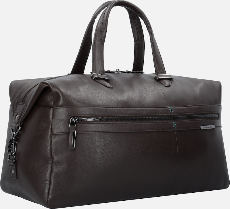 Samsonite Formalite Lth Weekender Travel Bag Leather 50 Cm