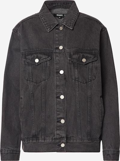 Missguided Jeansjacke in schwarz, Produktansicht