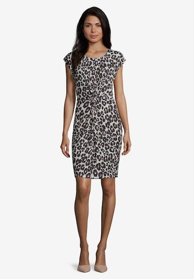 Betty & Co Jerseykleid ohne Arm in beige / schwarz, Modelansicht