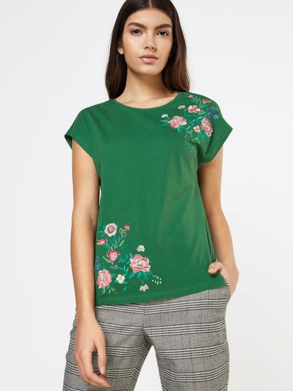 T-shirt Esprit Avec Broderie Florale