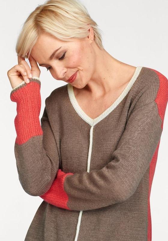 BOYSEN'S V-Ausschnitt-Pullover