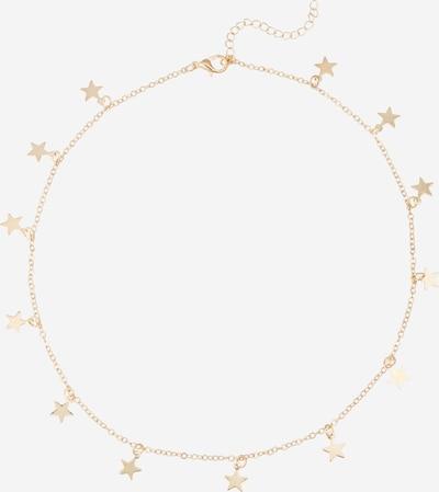 We Are Flowergirls Ketting 'Long Stars' in de kleur Goud, Productweergave