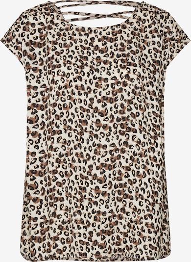 Marškinėliai 'SC-ADISA 6' iš Soyaconcept , spalva - smėlio / juoda: Vaizdas iš priekio