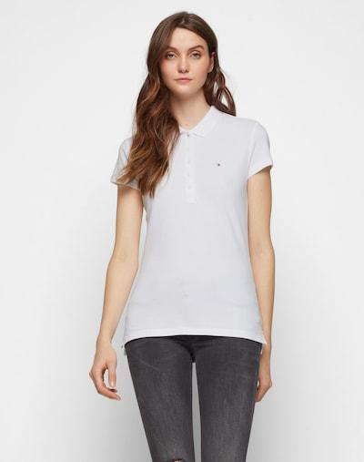 Tricou 'Chiara' TOMMY HILFIGER pe alb: Privire frontală