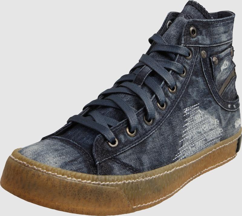 diesel kn chelhohe denim sneaker 39 magnete 39 in blau about you. Black Bedroom Furniture Sets. Home Design Ideas
