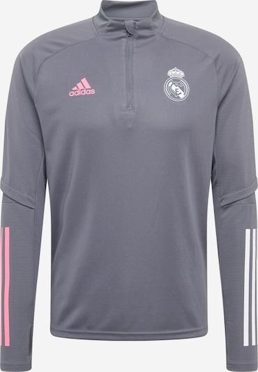 ADIDAS PERFORMANCE Športen pulover 'Real Madrid' | siva / roza / bela barva, Prikaz izdelka