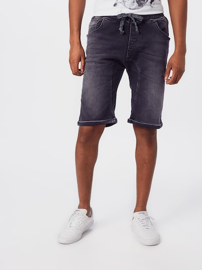 LTB Shorts  'ROSEYO' in black denim, Modelansicht