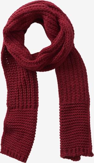 GIL BRET Wollschal mit Struktur in rot, Produktansicht
