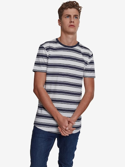 Urban Classics Shirt in navy / offwhite: Frontalansicht